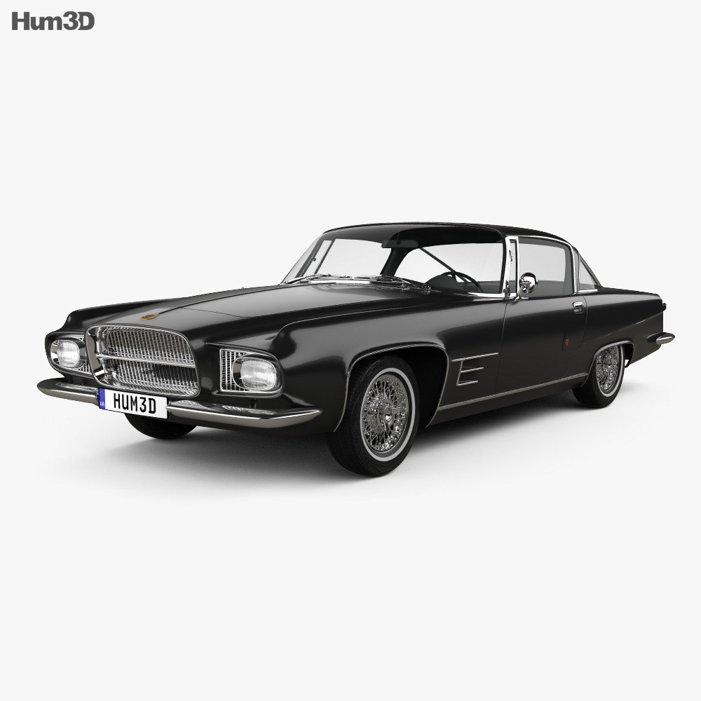 Dual-Ghia L6.4 coupe 1960 3d model