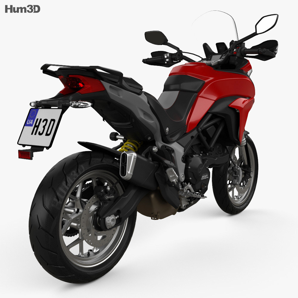 Ducati Multistrada 950 2018 3d model