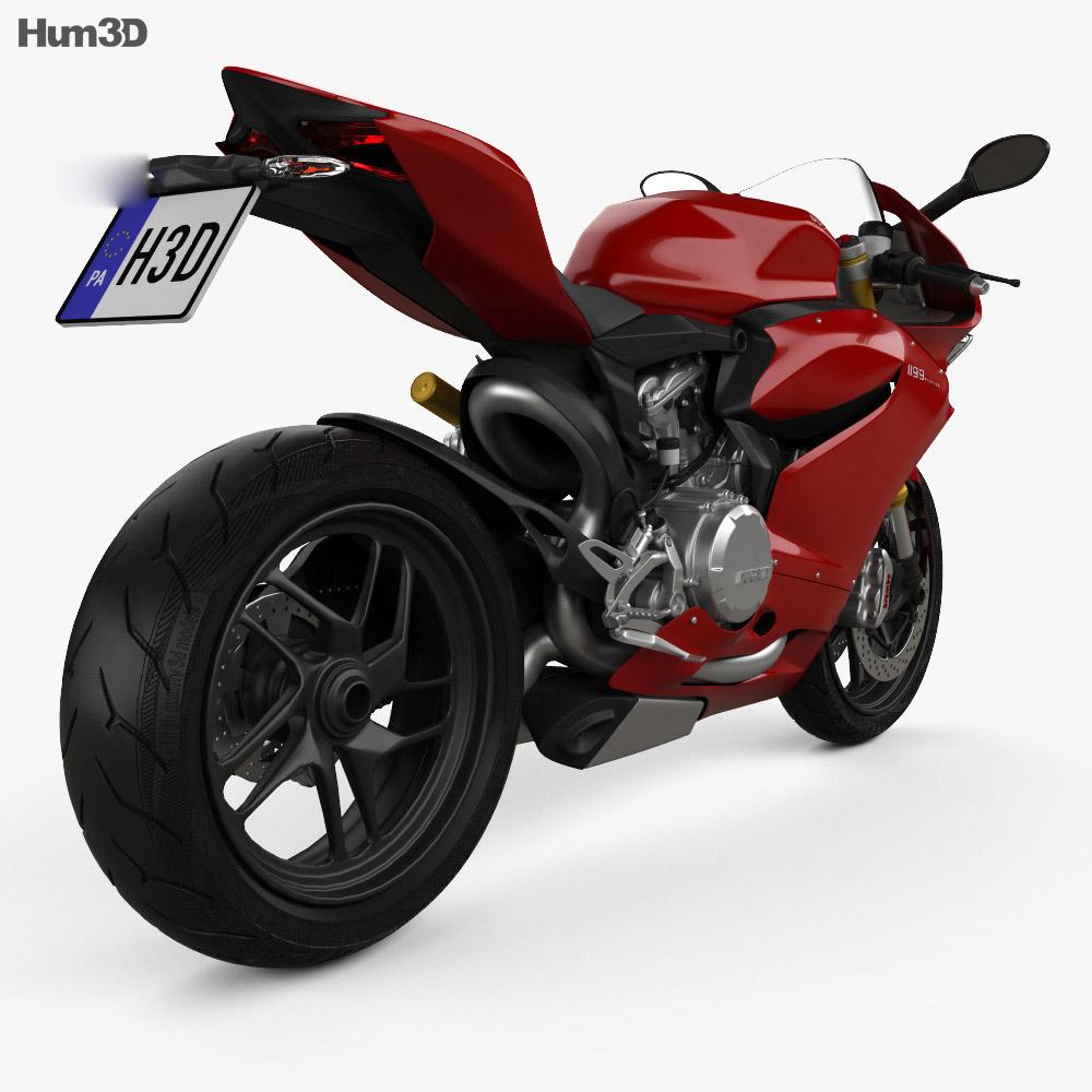 Ducati 1199 Panigale 2012 3d model
