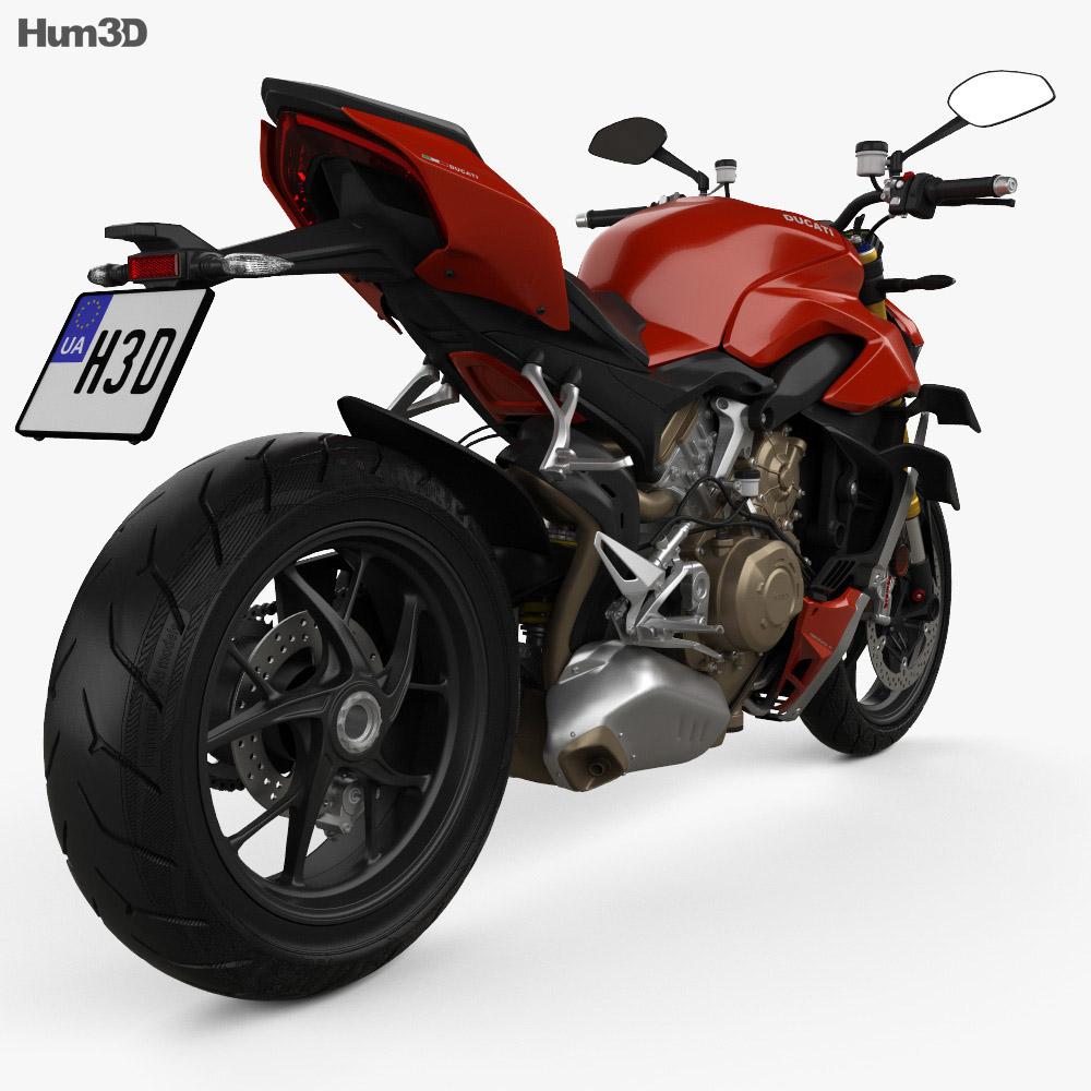 Ducati Streetfighter V4 2020 3d model