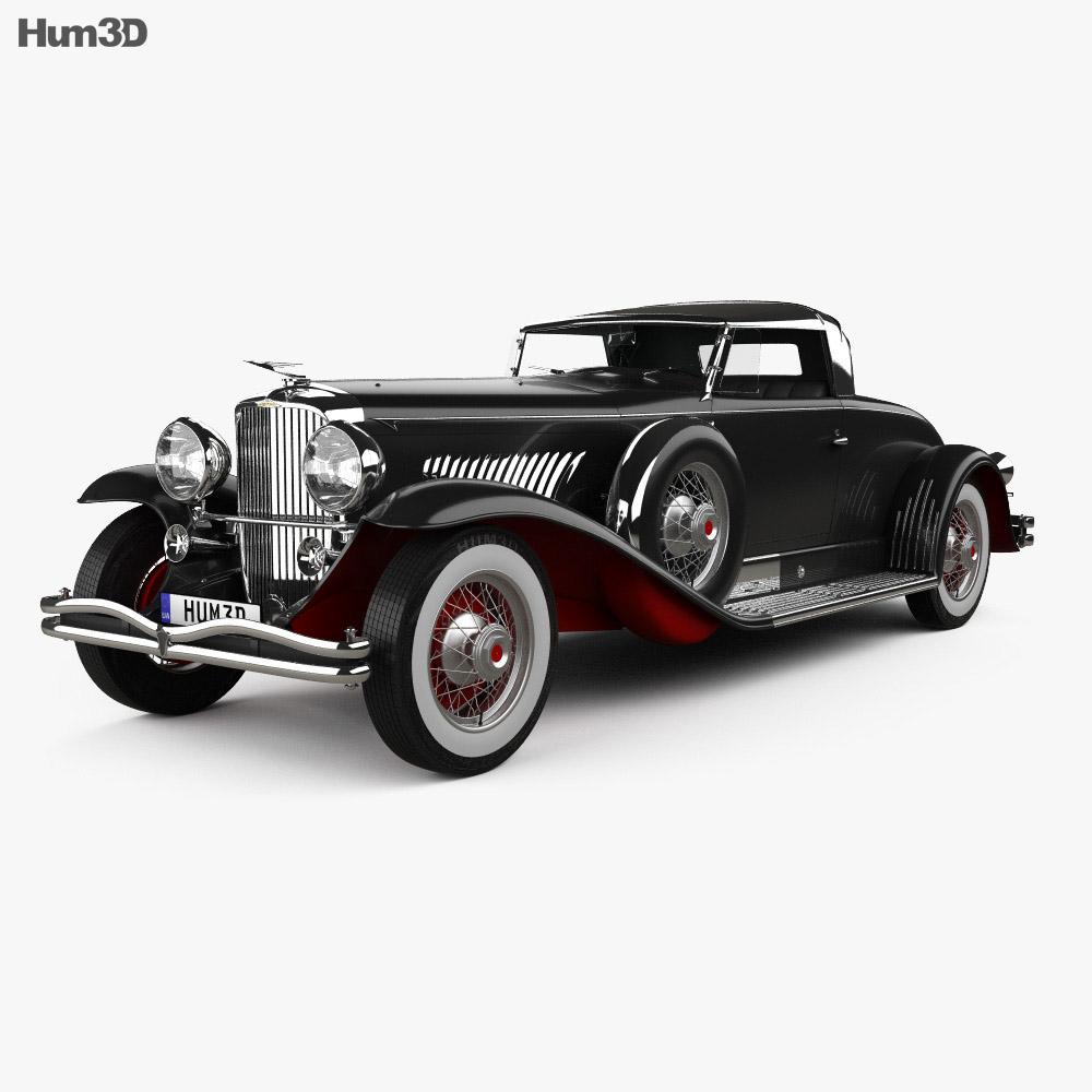 Duesenberg Model J 1931 3d model