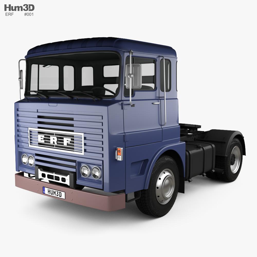ERF MW 64G Tractor Truck 1973 3d model