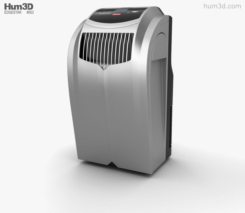 Beau EdgeStar Extreme Cool 12 BTU Portable Air Conditioner 3D Model