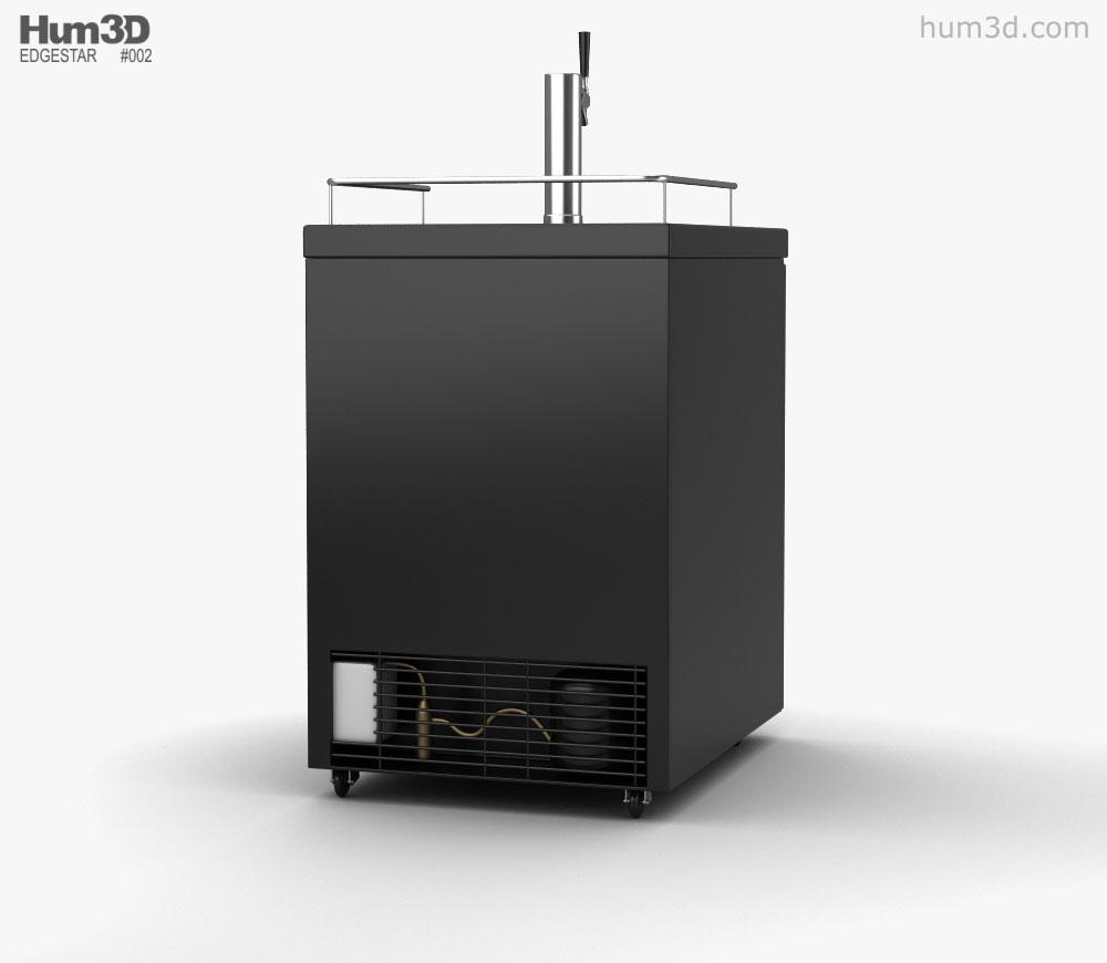 Edgestar ECK24BL1C Direct Draw Beverage Dispenser 3d model