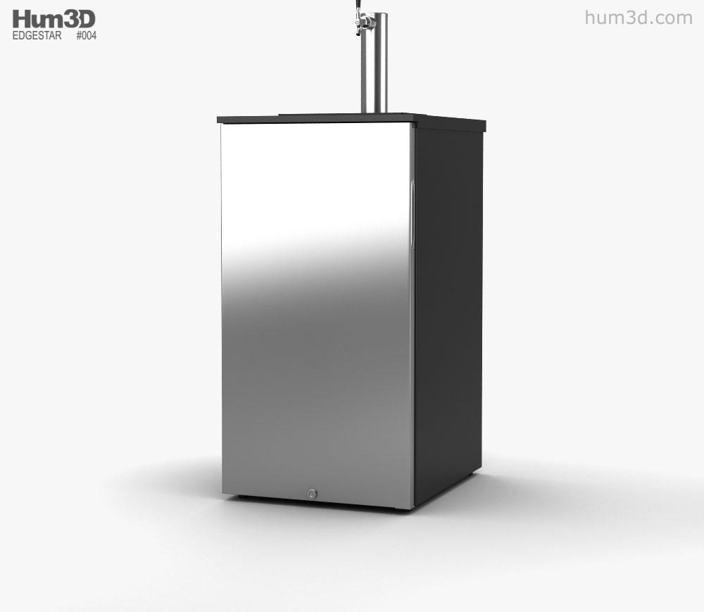 3D model of EdgeStar Craft Brew Kegerator