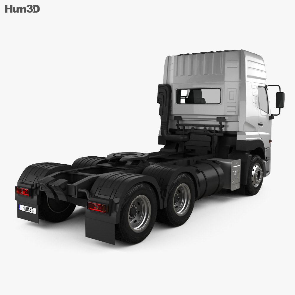 Eicher Pro 8049 Heavy Duty Tractor Truck 2014 3d model