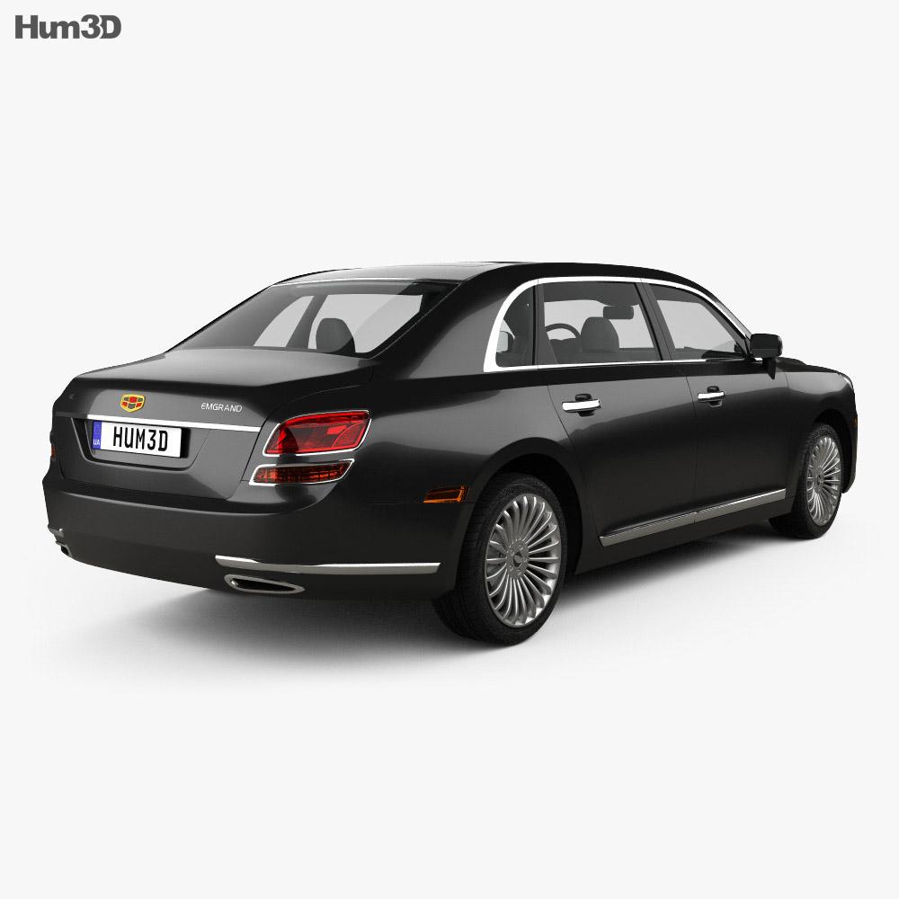 Emgrand GE 2014 3d model