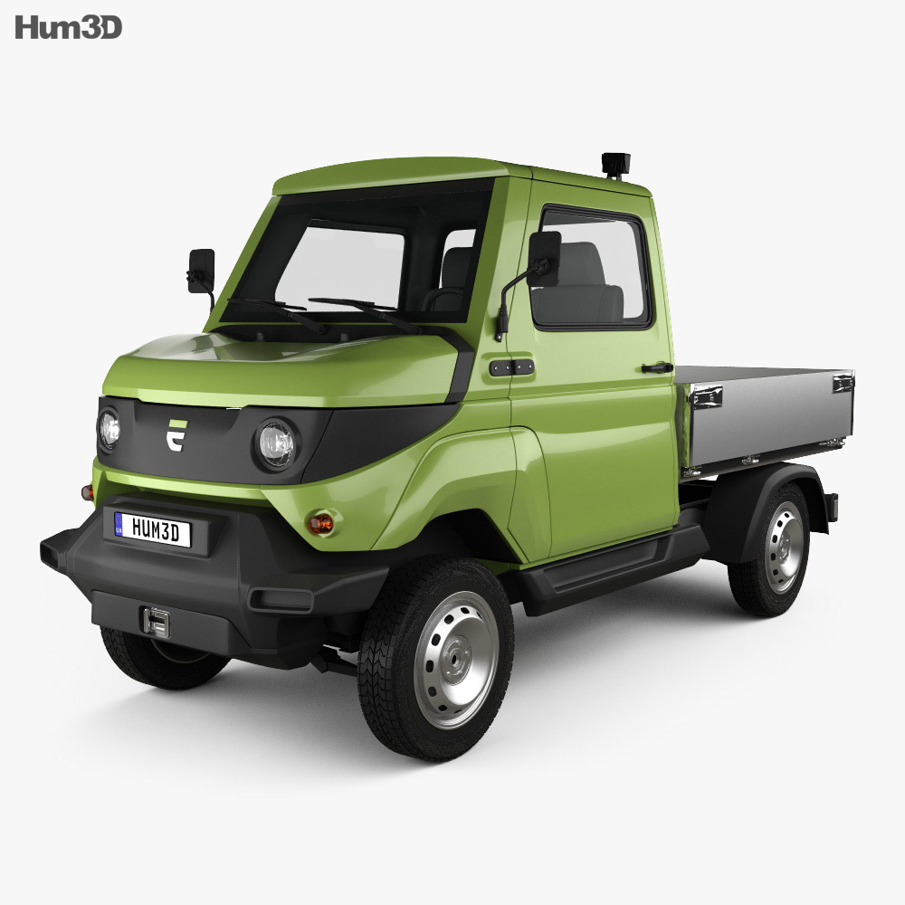 3D model of Evum Motors aCar E 2019