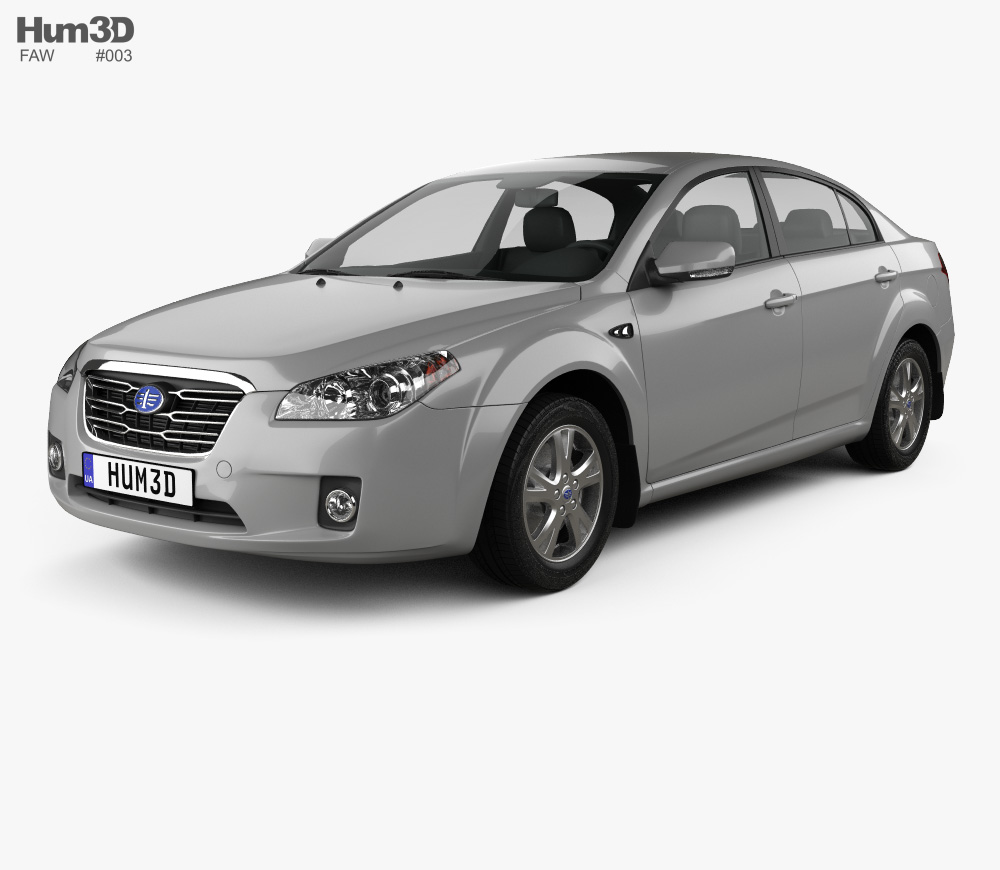FAW Besturn B50 2011 3d model