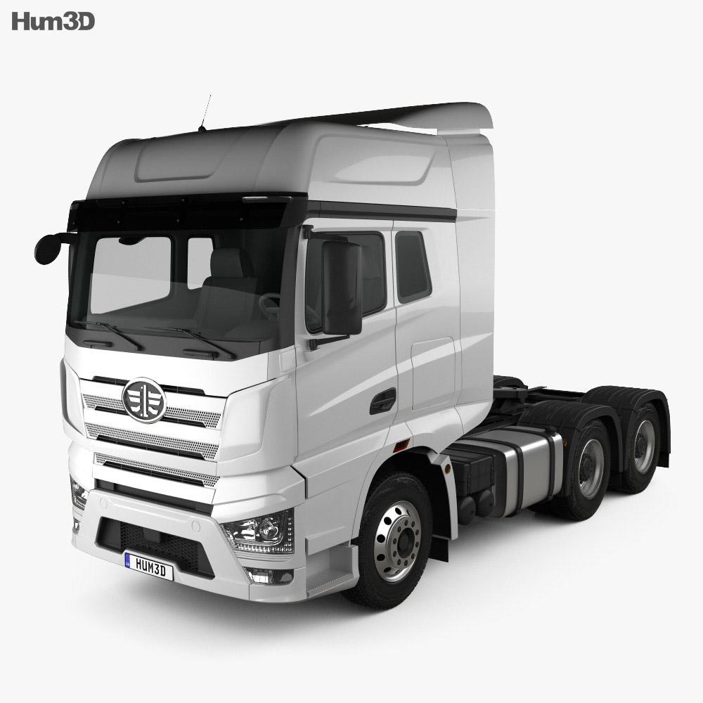 FAW J7 Tractor Truck 2018 3d model