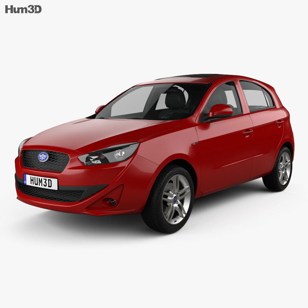 FAW Oley 5-door hatchback 2014 3d model