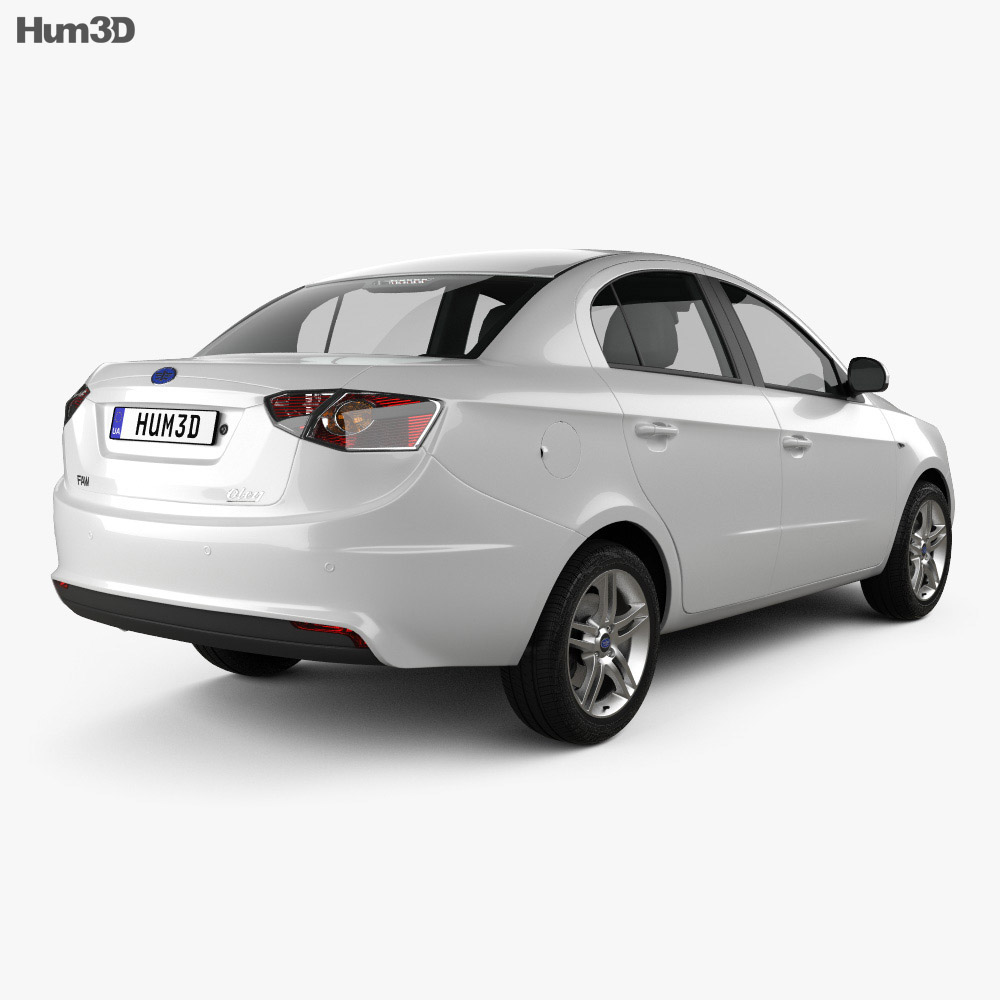 FAW Oley sedan 2014 3d model