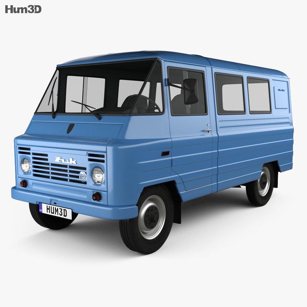 FSC Zuk (A07) Van 1975 3d model