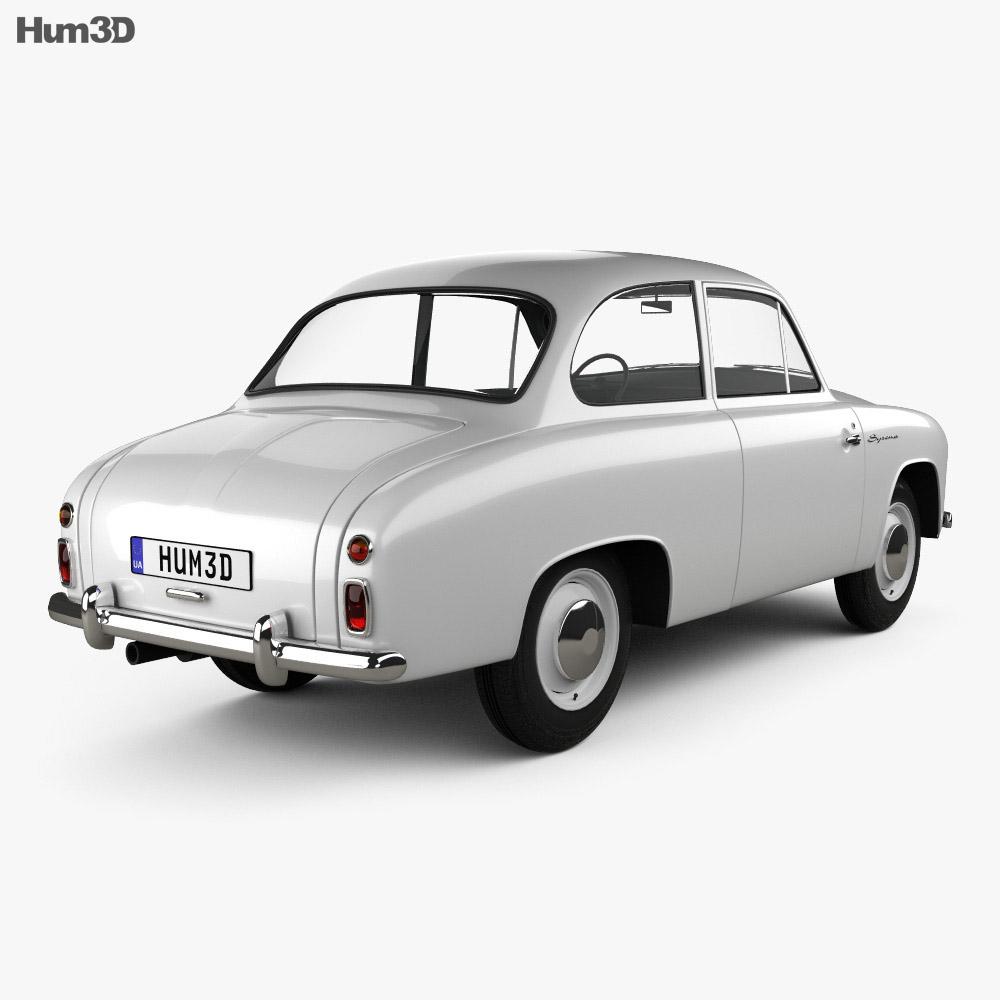 FSO Syrena 100 1955 3d model