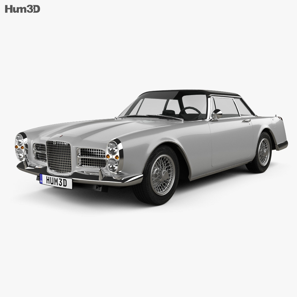 Facel Vega Facel II 1962 3d model