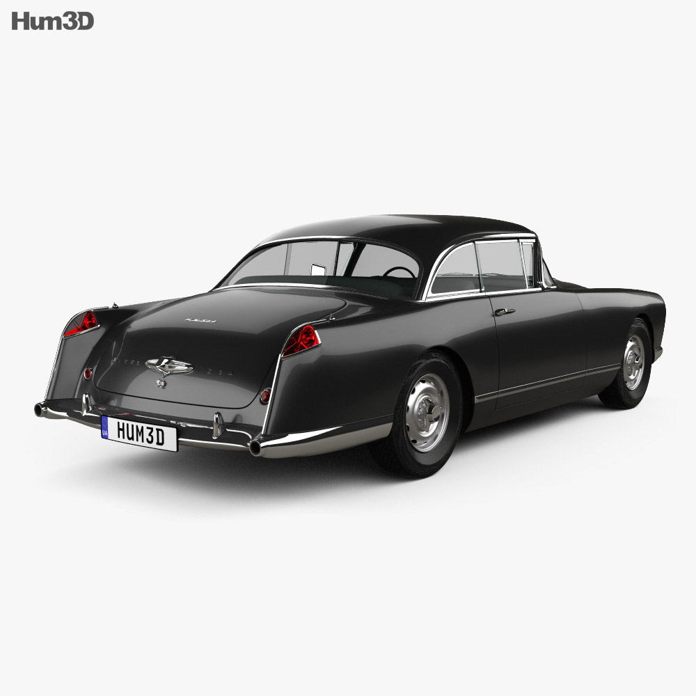 Facel Vega HK500 1959 3d model