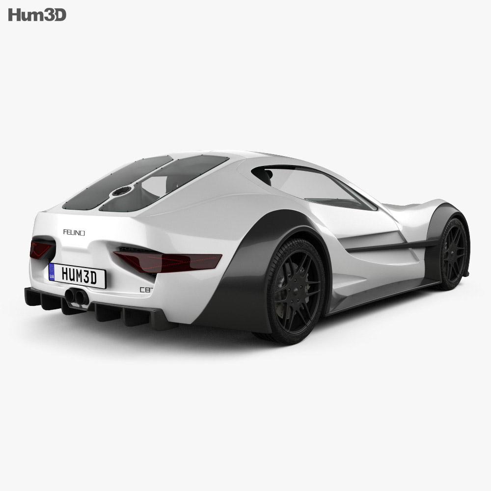 Felino cB7 2016 3d model