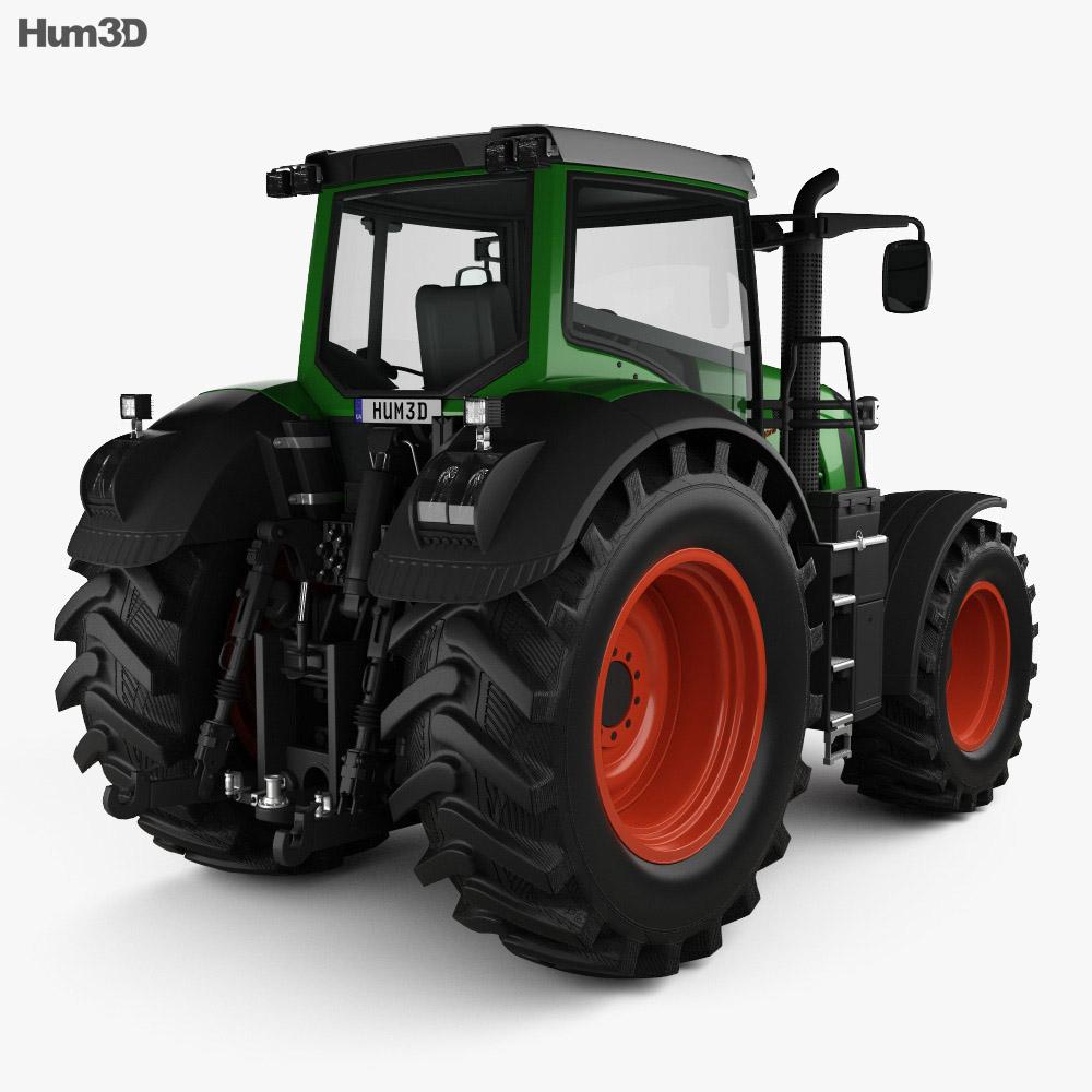 Fendt 826 Vario 2014 3d model