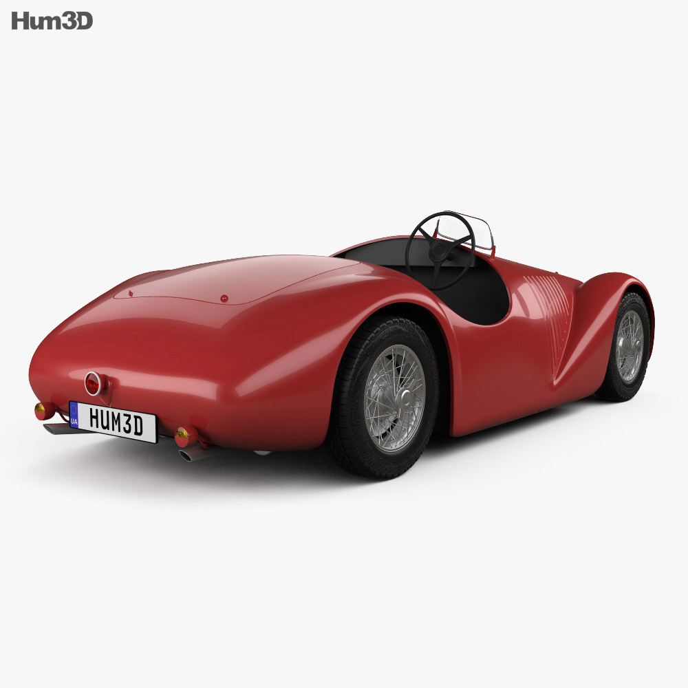 Ferrari 125 S 1947 3d model
