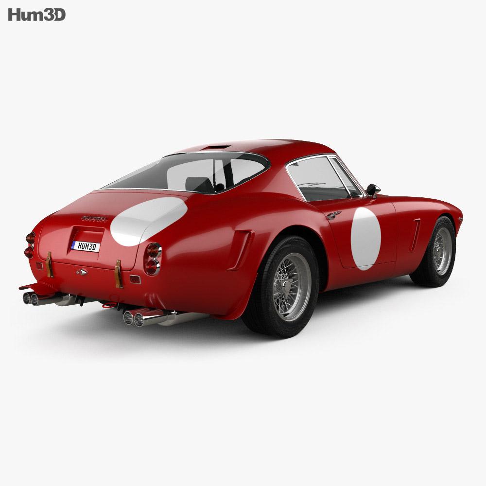 Ferrari 250 GT SWB Berlinetta Competizione 1960 3d model
