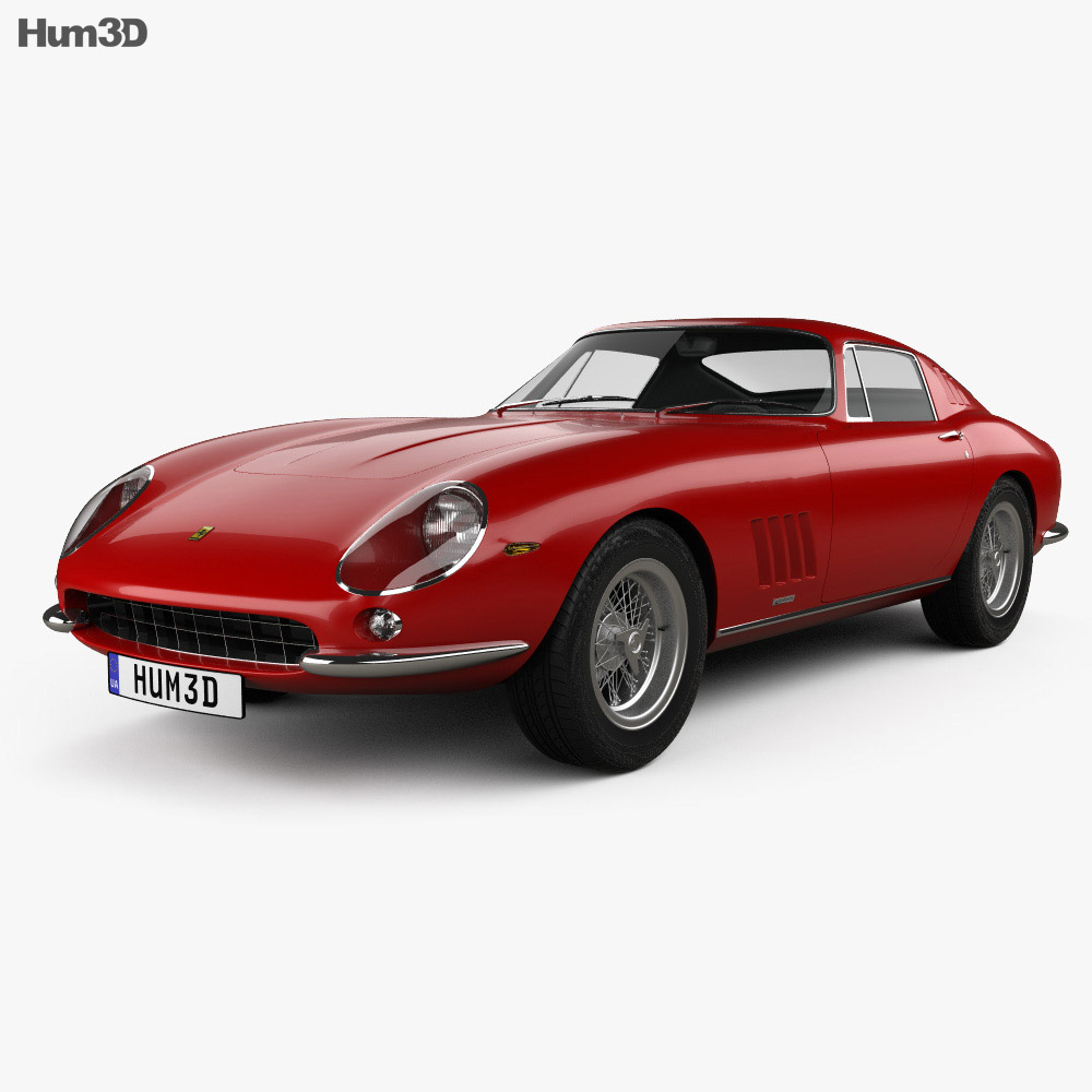 Ferrari 275 GTB4 1966 3d model
