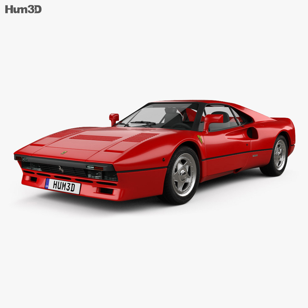 Ferrari 288 GTO 1984 3d model