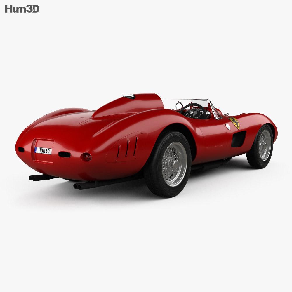 Ferrari 335 S Spider Scaglietti 1957 3d model