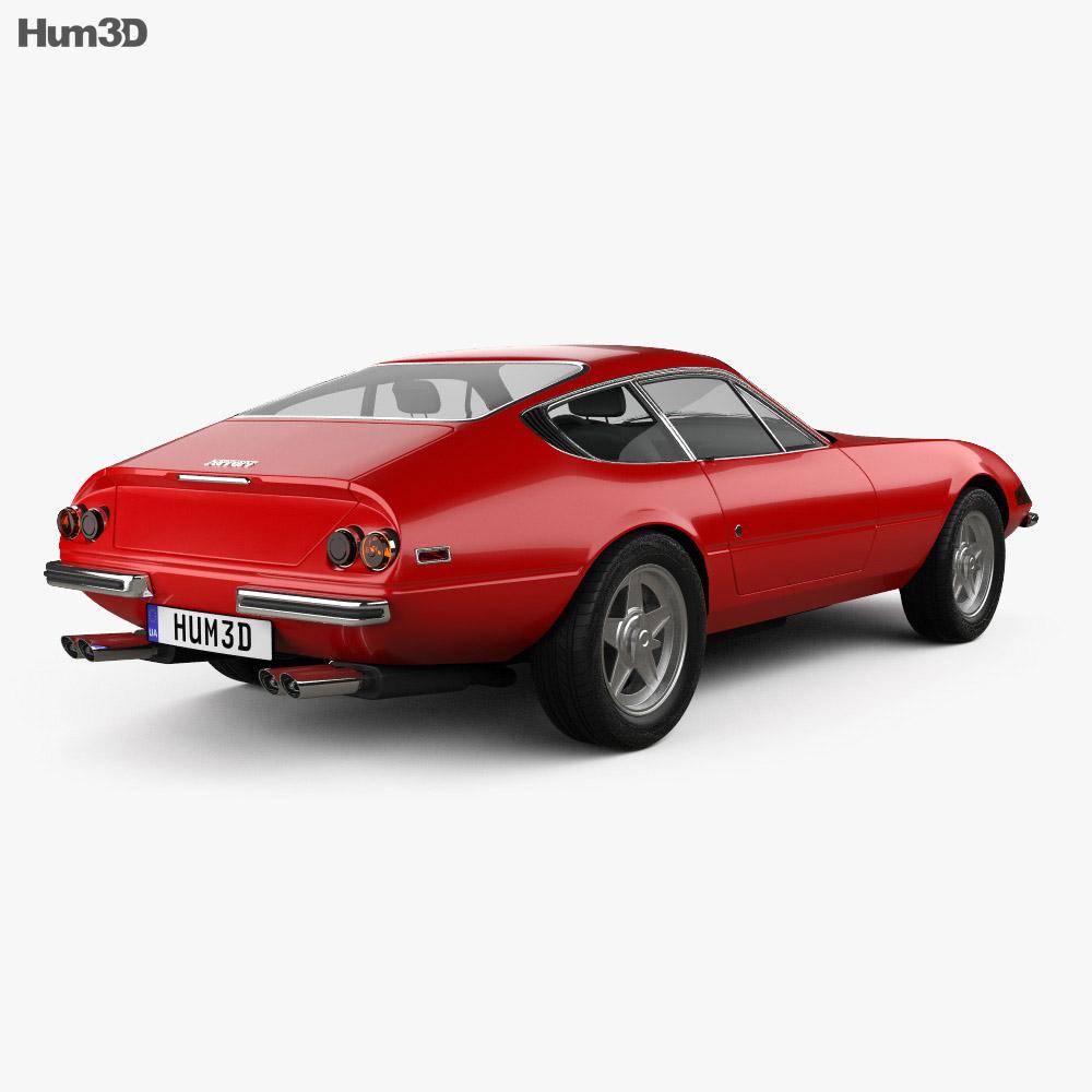 Ferrari 365 Daytona GTB/4 1968-1973 3d model