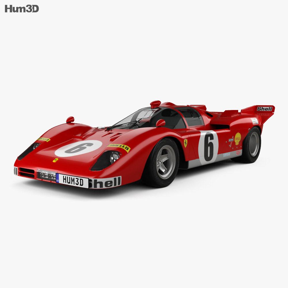 Ferrari 512 S 1970 3d model
