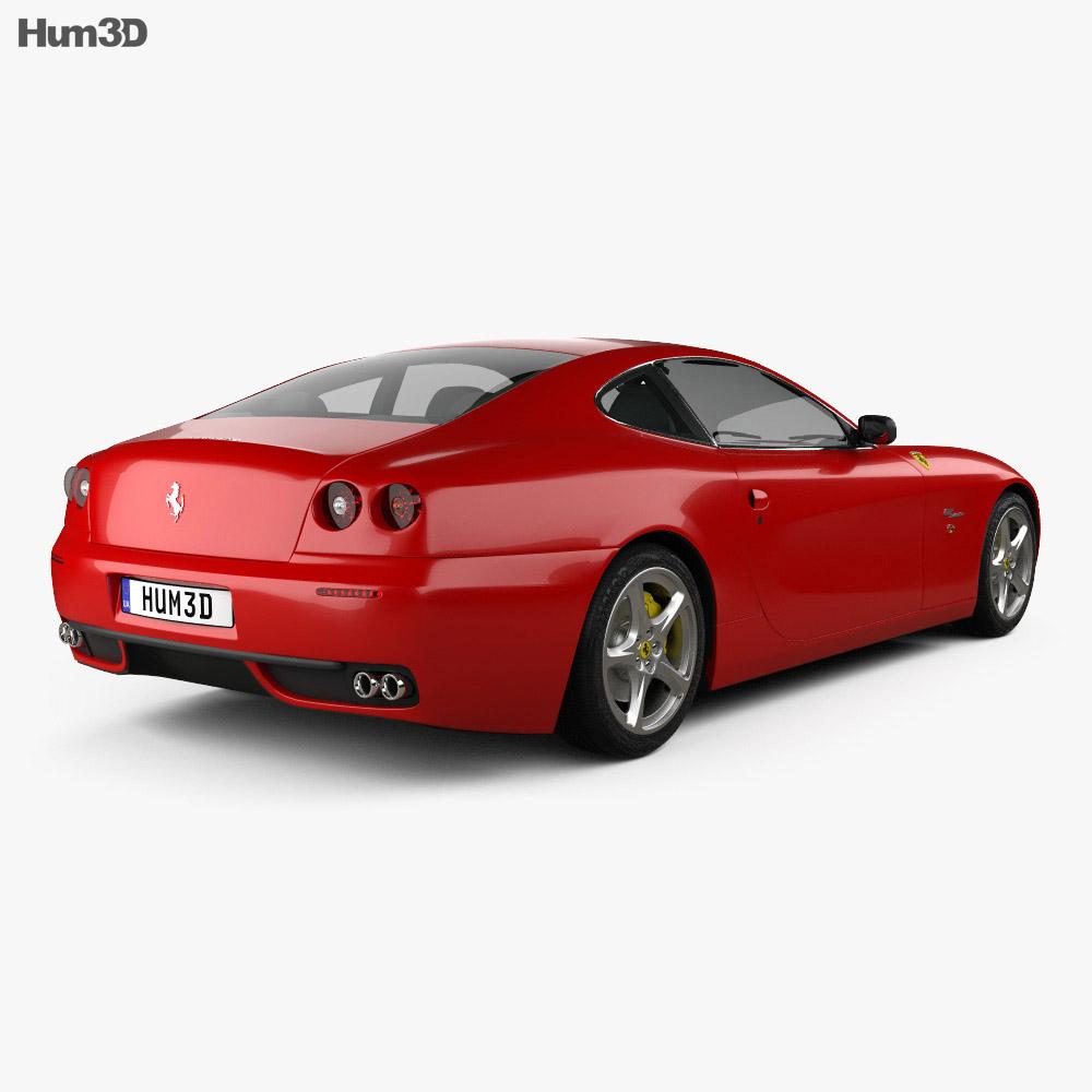 Ferrari 612 Scaglietti 2006 3d model