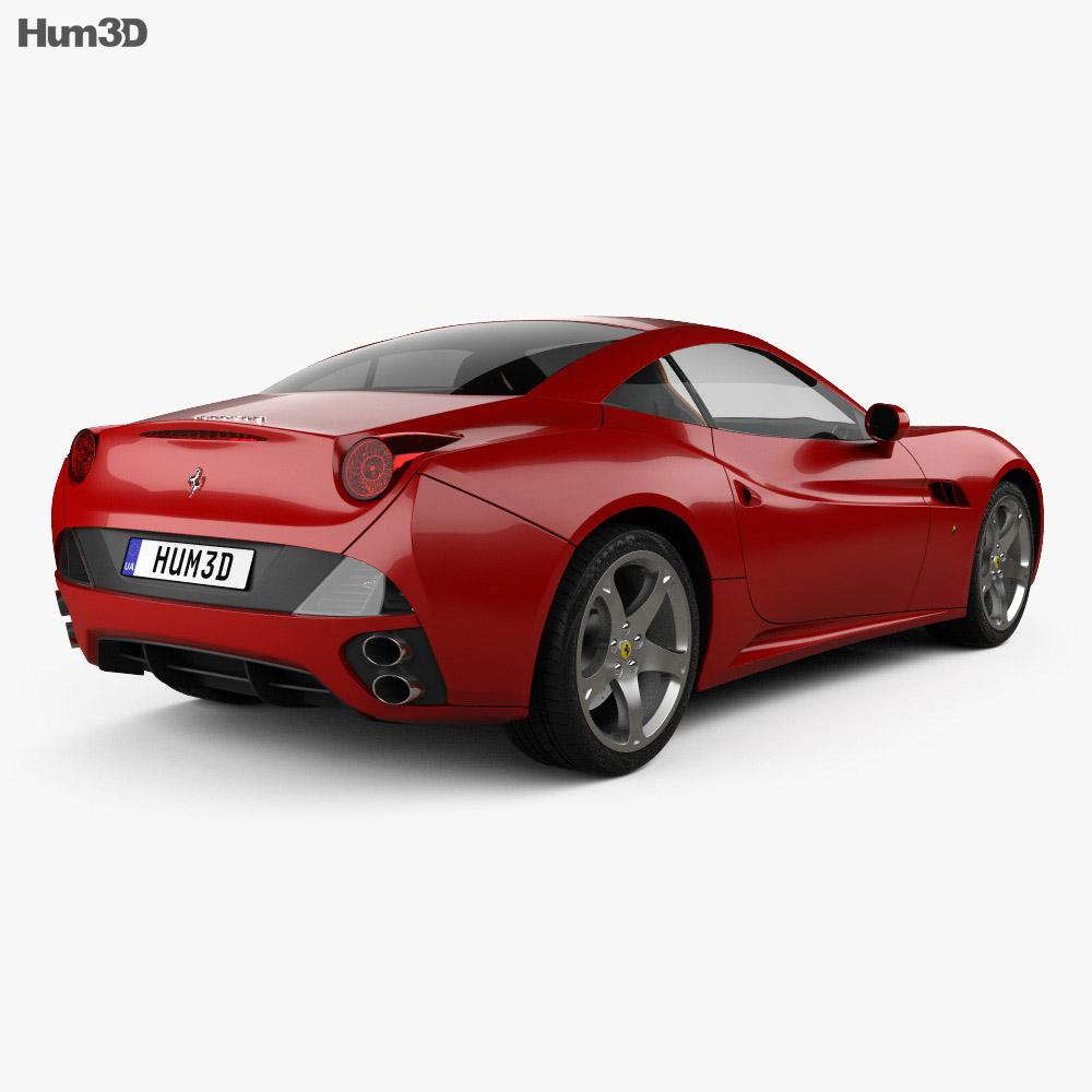 Ferrari California 2009 3d model