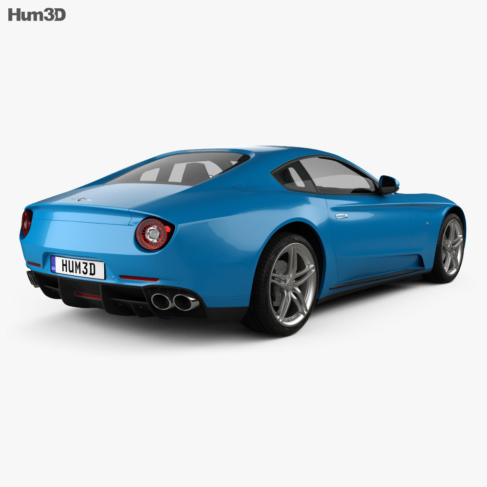 Ferrari F12 Berlinetta Lusso 2014 3d model