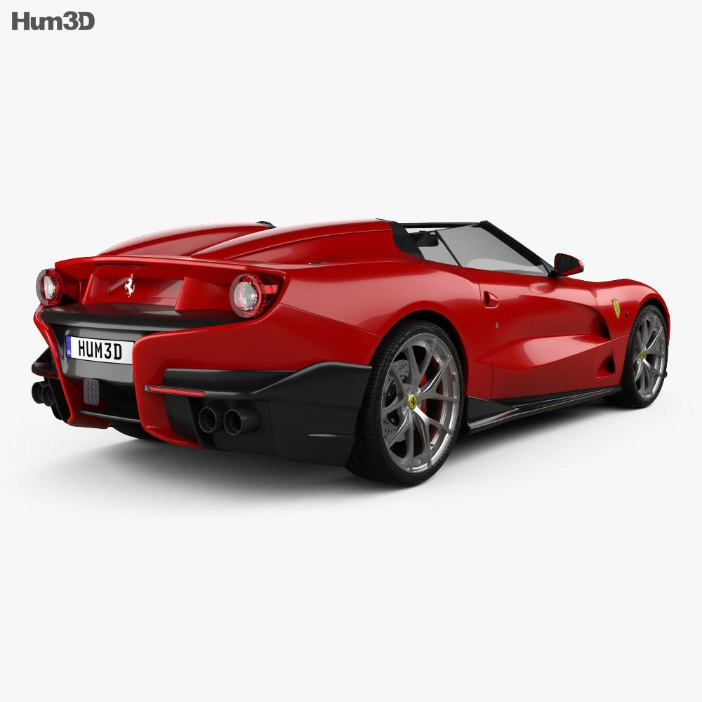 Ferrari F12 TRS 2014 3d model