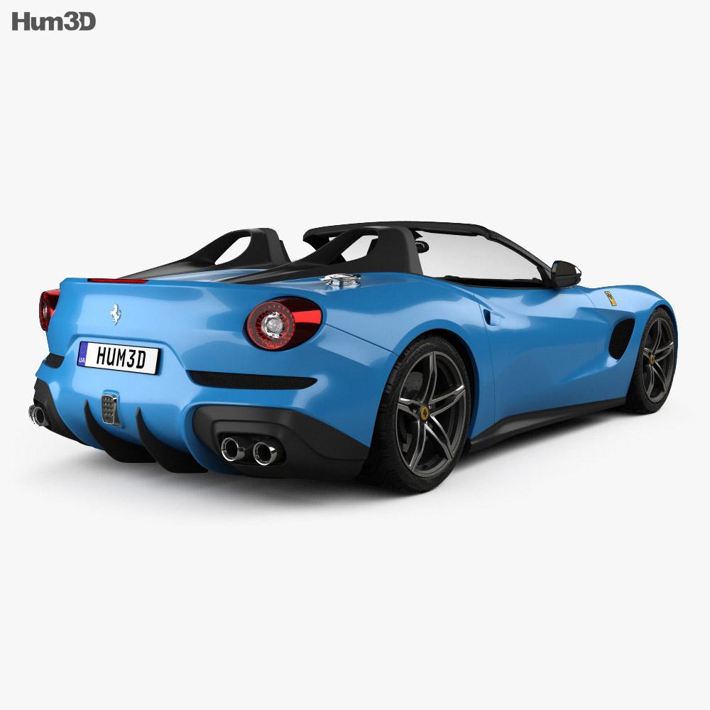 Ferrari F60 America 2015 3d model