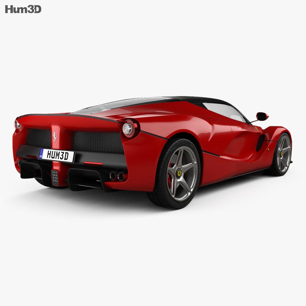 Ferrari F70 LaFerrari 2014 3d model