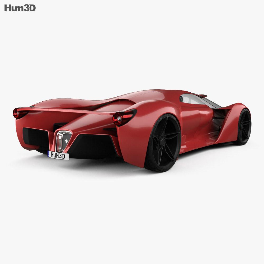 Ferrari F80 2016 3d model