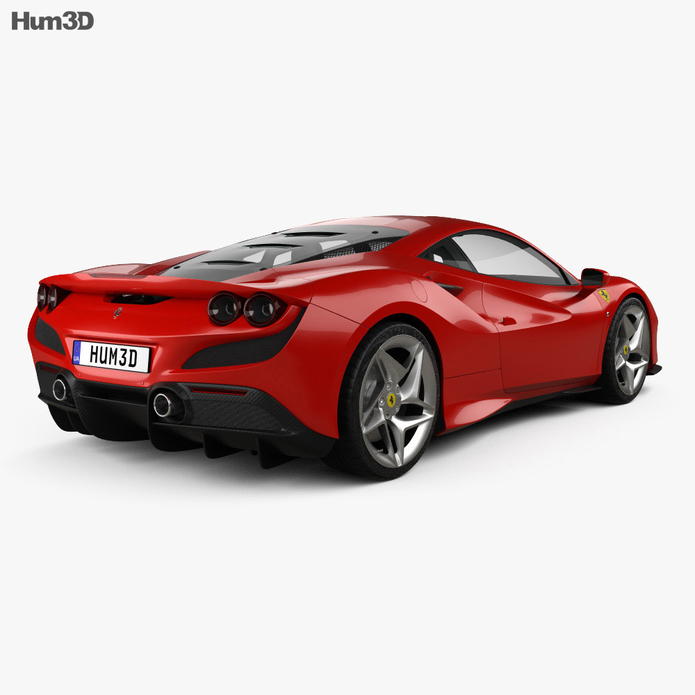 Ferrari F8 Tributo 2019 3d model