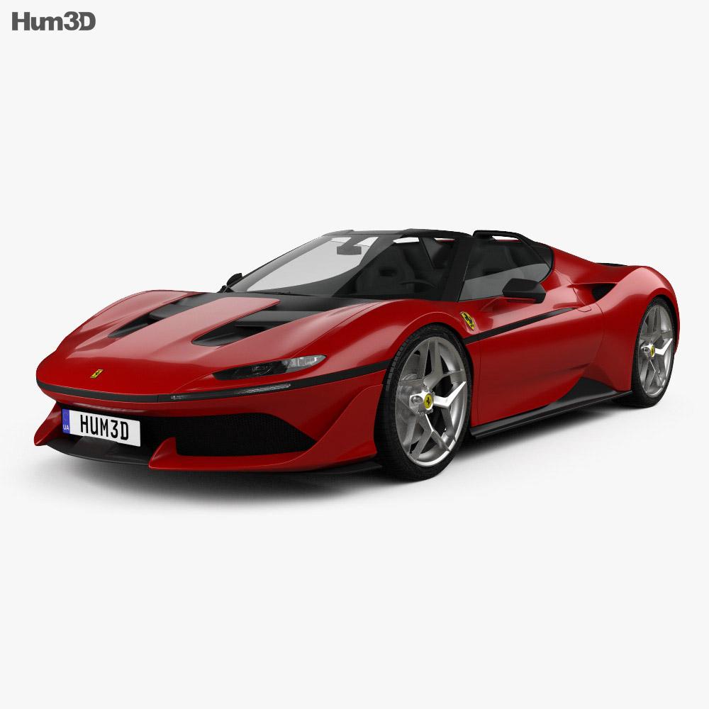 Ferrari J50 2016 3d model