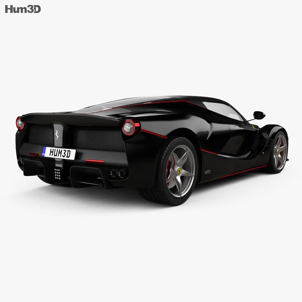 Ferrari LaFerrari Aperta 2017 3d model