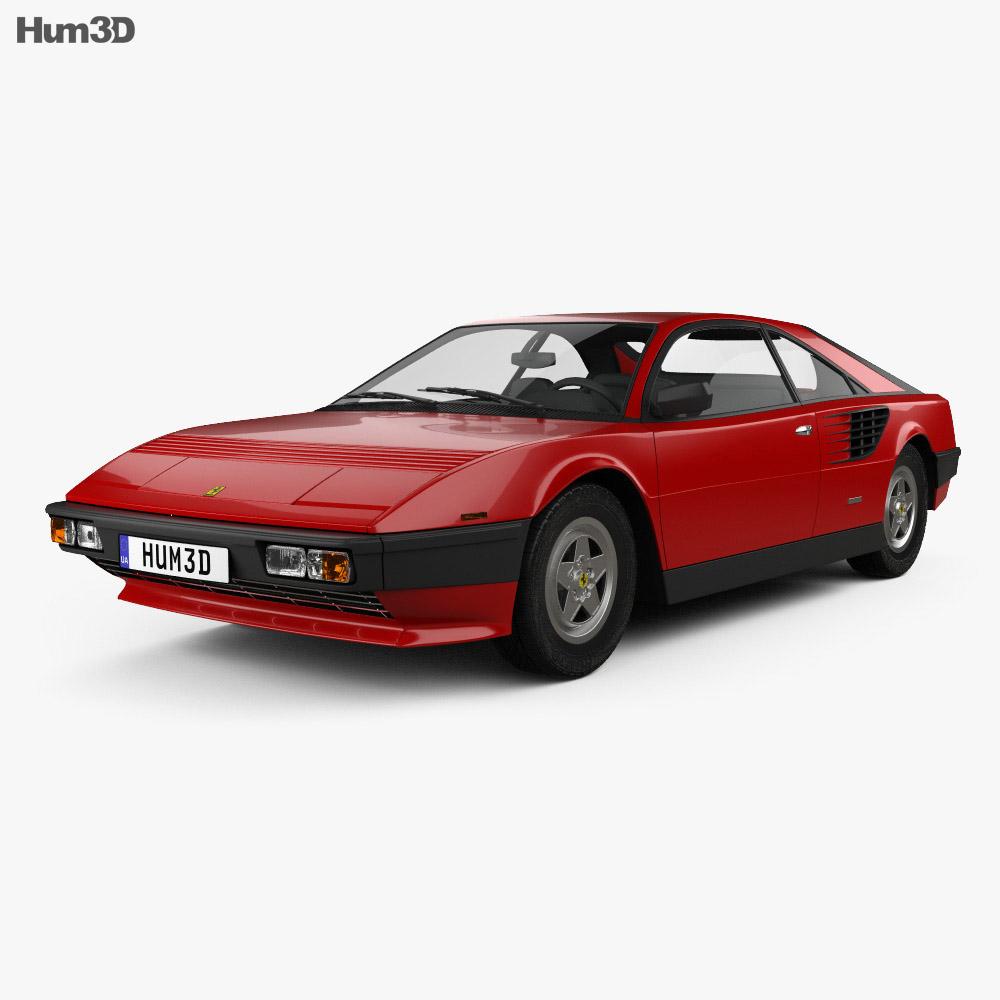 Ferrari Mondial 8 1980 3d model