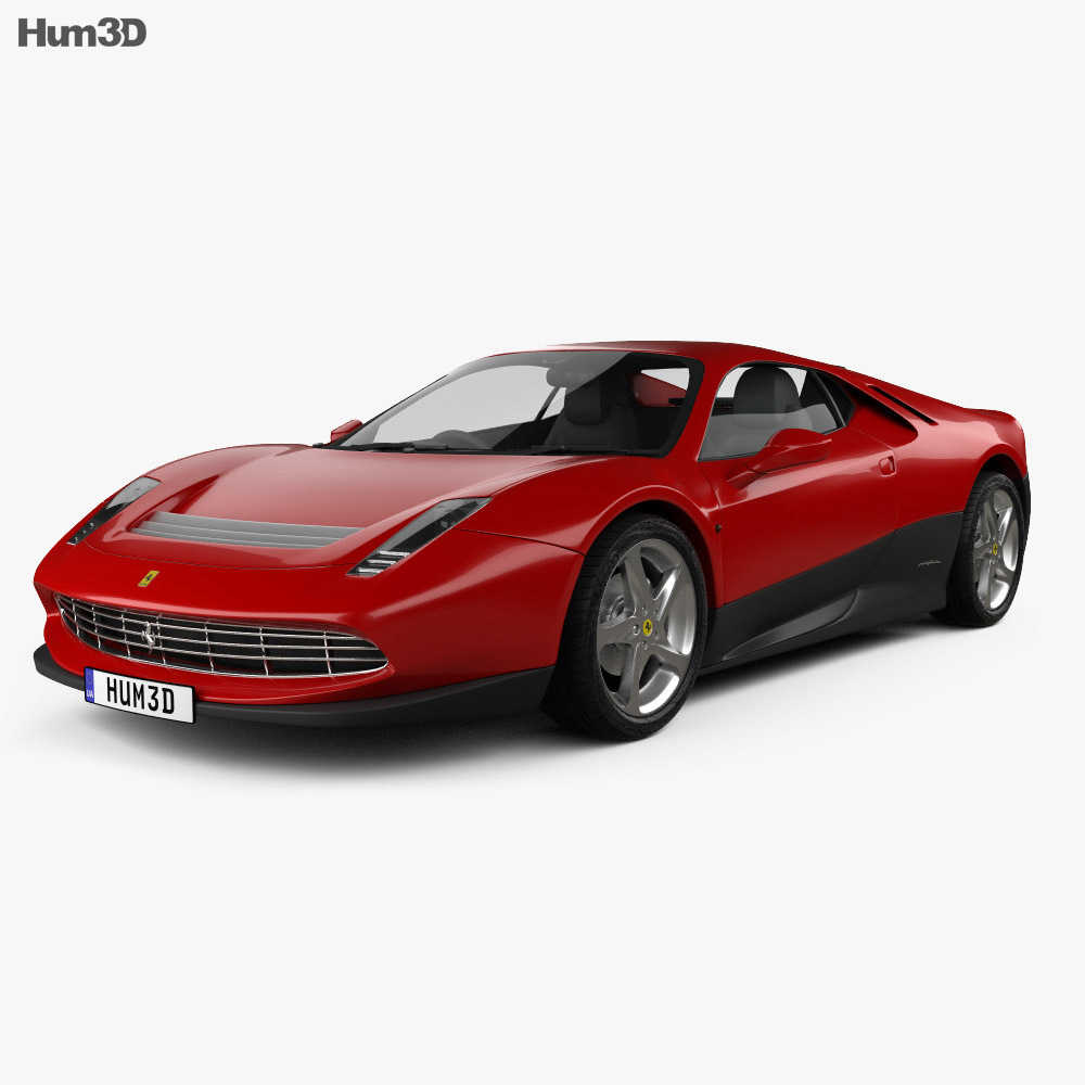 Ferrari SP12 EC 2012 3d model