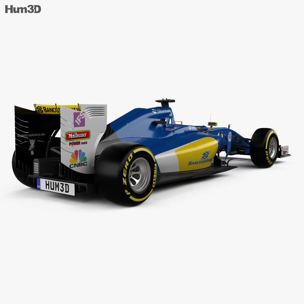 Ferrari Sauber C35 F1 2016 3d model