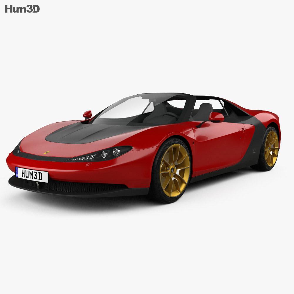 Ferrari Sergio 2014 3d model