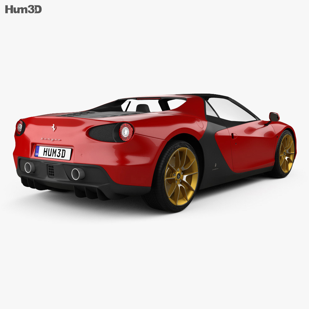Ferrari Sergio 2014 3D model - Vehicles on Hum3D
