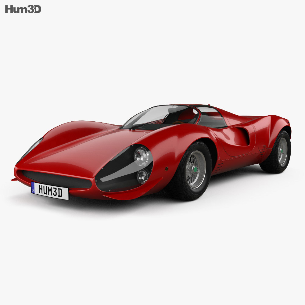 Ferrari Thomassima II 1967 3d model