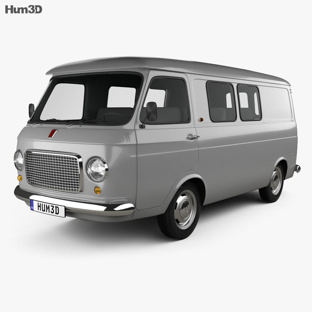 Fiat 238 1968 3d model