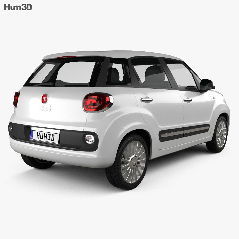 Fiat 500L 2013 3d model