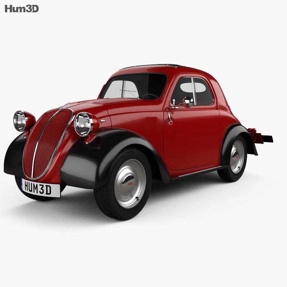 fiat 500 topolino 1936 3d model vehicles on hum3d. Black Bedroom Furniture Sets. Home Design Ideas