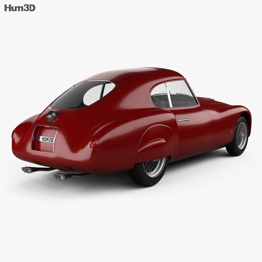 Fiat 8V coupe 1952 3d model