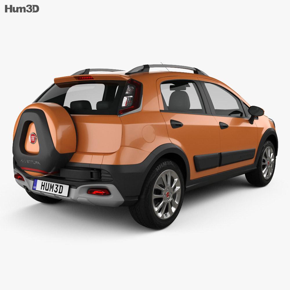 Fiat Avventura 2014 3d model